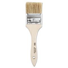 "Linzer® Chinese Bristle-Chip Brush, 2"", White"
