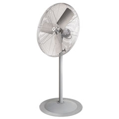 "TPI Industrial Unassembled Pedestal Fan, 30"", Non-Oscillating"