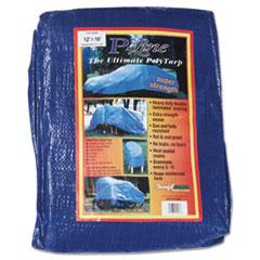 Anchor Brand® Multiple Use Tarpaulin, Polyethylene, 12 ft x 16 ft, Blue