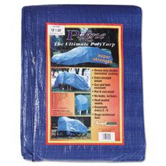 Anchor Brand® Multiple Use Tarpaulin, Polyethylene, 12 ft x 20 ft, Blue