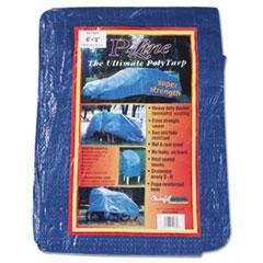 Anchor Brand® Multiple Use Tarpaulin, Polyethylene, 6 ft x 8 ft, Blue