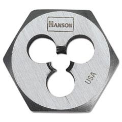 """IRWIN® High-Carbon Steel Fractional Hexagon Die, 12""""-13, 1"""" Diameter"""