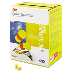3M™ E-A-R Classic SuperFit 33 Foam Earplug, Uncorded, Pillow Pack