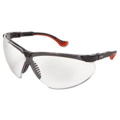 Honeywell Uvex™ Genesis XC Two-Shot Safety Glasses, Black Frame, Clear Len