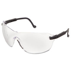 Honeywell Uvex™ Spitfire Safety Spectacles, Black Frame, Clear Lens