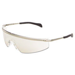 MCR™ Safety Triwear Metal Protective Eyewear Platinum, Frame/ Blue Diamond Lens