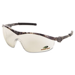MCR™ Safety Mossy Oak Safety Glasses, Forest-Camo Frame, Indoor/Outdoor, Clear/Mirror Lens
