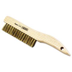 Weiler® PSH-46-B Plater's Brush, .005 Wire, Brass