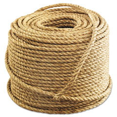 "Anchor Brand® Manila Rope, 3-Strand, 1/2"" x 600ft, 45lb"