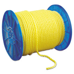 """Hooven Allison Monofilament Twisted Yellow Poly Rop, 1/2"""" x 600ft"""