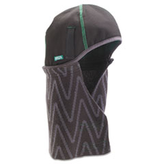 MSA V-Gard Supreme Winter Liner, Fabric, Two-Piece Extended, Hook & Loop Chinstrap