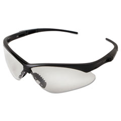 Jackson Safety* V30 NEMESIS Safety Eyewear, Black Frame, Clear Lens