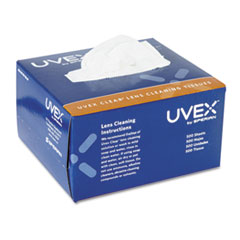 Honeywell Uvex™ Clear Lens Cleaning Tissues, 500/Box