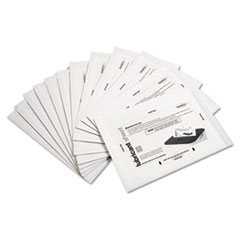 Shredder Lubricant Sheets, 8 1/2 x 5 1/2, 24/Pack
