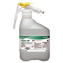 Diversey™ Alpha-HP Concentrated Multi-Surface Cleaner, Citrus Scent, 5000mL RTD Bottle