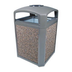 Rubbermaid® Commercial Landmark Series® Classic Dome Top Container and Ashtray Thumbnail