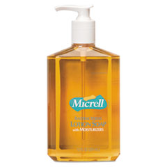 MICRELL® Antibacterial Lotion Soap, Light Scent, 12 oz Pump Bottle