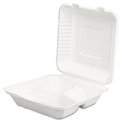 SCT® ChampWare™ Molded-Fiber Clamshell Containers Thumbnail