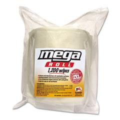 Image of Gym Wipes Mega Roll Refill, 8 x 8, White, 1200/Roll, 2 Rolls/Carton Bathrooms & Accessories TXLL420 2XL