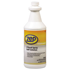 Zep Professional® Z-Tread Buff-Solution Spray, Neutral, 1 qt Bottle