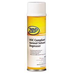 Zep Professional® VOC-Compliant Aerosol Solvent Degreaser, Neutral, 13oz Aerosol, 12/Carton