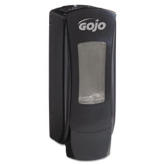 "GOJO® ADX-12 Dispenser, 1250 mL, 4.5"" x 4"" x 11.75"", Black"