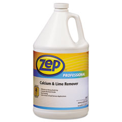 Zep Professional® Calcium & Lime Remover, Neutral, 1gal Bottle, 4/Carton