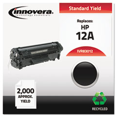 Remanufactured Q2612A (12A) Toner, Black