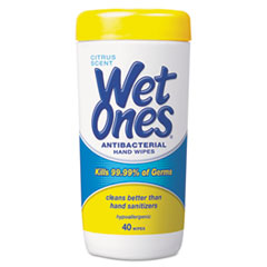 Wet Ones® Antibacterial Moist Towelettes Thumbnail