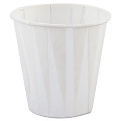 Genpak® Paper Drinking Cups, 3.5oz, White, 2500/Carton