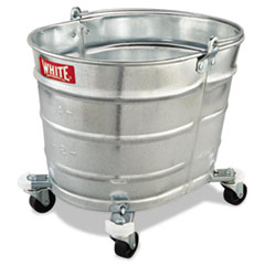 Impact® Metal Mop Bucket, 26 qt, Steel