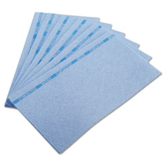 Chix® Food Service Towels, 13 x 24, Blue, 150/Carton