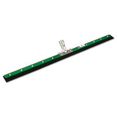 Unger® Aquadozer Heavy Duty Floor Squeegee, 36 Inch Blade, Green/Black Rubber, Straight