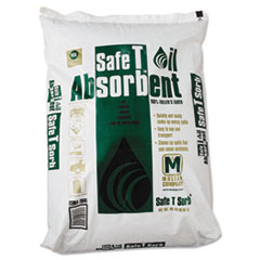 Safe T Sorb™ All-Purpose Clay Absorbent, 40lb, Poly-Bag