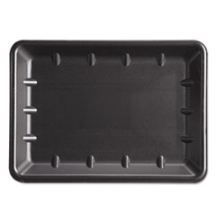 Genpak® Supermarket Tray, Westcoast Supermarket Only, 10 x 14 x 1.25, Black 100/Carton