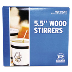 Royal Paper Wood Stir Sticks Thumbnail