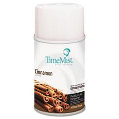 TimeMist® Premium Metered Air Freshener Refill, Cinnamon, 6.6 oz Aerosol, 12/Carton