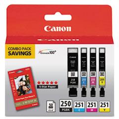Canon® 6497B004 Inks & Paper Pack Thumbnail