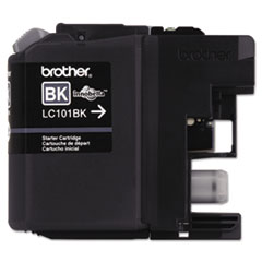Brother LC101BK Innobella Ink, 300 Page-Yield, Black
