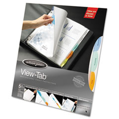 Wilson Jones® View-Tab® Sheet Protectors Thumbnail