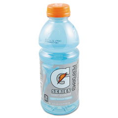 Gatorade® G-Series Perform 02 Thirst Quencher, Glacier Freeze, 20 oz Bottle, 24/Carton