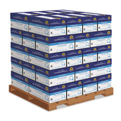 Hammermill® Great White 30 Recycled Print Paper, 92 Bright, 20lb, 8.5 x 11, White, 500 Sheets/Ream, 10 Reams/Carton, 40 Cartons/Pallet