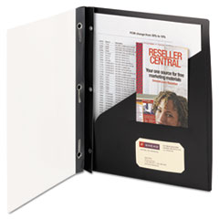 Smead® Clear Front Poly Report Cover with Fasteners
