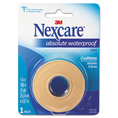 "3M Nexcare™ Absolute Waterproof First Aid Tape, Foam, 1"" x 180"""