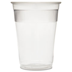 GEN Individually Wrapped Plastic Cups, 9oz, Clear, 1000/Carton