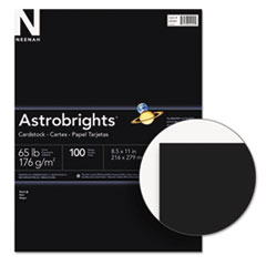 Astrobrights Card Stock - 65 lb Basis Weight - Recycled - 100 / Pack WAU22024