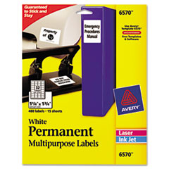Avery® Permanent ID Labels Thumbnail