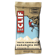 Energy Bar, White Chocolate Macadamia Nut, 2.4 oz, 12/Box