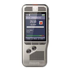 Pocket Memo 6000 Digital Recorder with Push Button Operation, 4 GB Memory