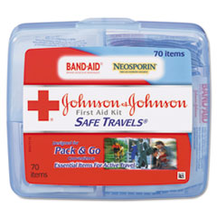 Johnson & Johnson® Red Cross® Safe Travels™ First Aid Kit Thumbnail